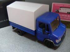 1/43 NZG MB Vario Pr.-Pl. LKW blau 600 0122