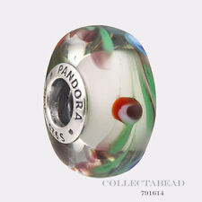 Authentic Pandora Sterling Silver Murano Glass Folklore Bead 791614