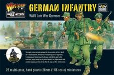 Warlord Games Bolt Action WWII German Infantry late War  plastic boxed set OVP