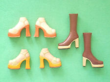 Bratz Footwear ~ 2 x Pairs of Sandals and 1 x Pair of Boots