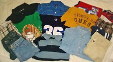 Boys Size 8-10 Spring Summer Lot Clothes Guess Crazy 8 TCP PS 15pcs Shorts Tops