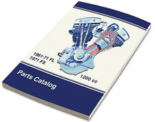 ACS SPARE PARTS BOOK FOR HARLEY FL FX 1961-1971 BIG TWIN OEM PART #S OLD SCHOOL
