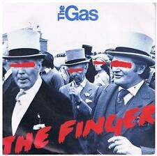 THE GAS The finger / Knock it down Polydor POSP 344 Rare new wave from 1981