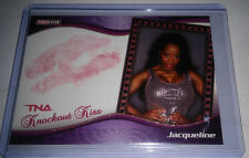 TNA Jacqueline 2009 Knockouts GOLD Authentic Kiss Card SN 12 of 75