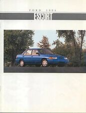 Ford Escort LX & GT 1994 Original Canadian Sales Brochure