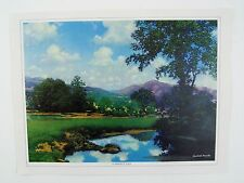 Vintage 1970's Maxfield Parrish A Perfect Day Canvas Print
