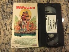 MEATBALLS PART III 3 RARE OOP VHS NOT ON DVD 1986 PATRICK DEMPSEY, SHANNON TWEED