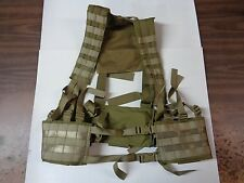 NEW Eagle Industries MOLLE H-Harness H-Gear Chest Rig Khaki HG-VS-MS-KH 07/08