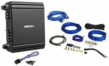 Alpine MRV-M250 250 Watt RMS Mono Class D Amplifier + Amp Kit