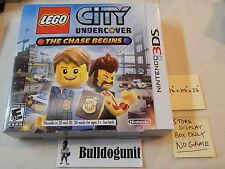 Lego City Undercover Nintendo 3DS Store Display Box Only 11x10x2 NO GAME