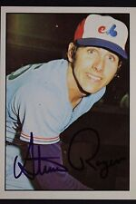 Steve Rogers Montreal Expos Autographed 1975 SSPC #349 Signed Card RARE 16L