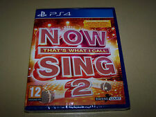 Now That's What I Call Sing 2: PS4 **New & Sealed** SOLUS.