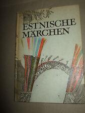 Estnische Märchen,1984,DDR-Buch,Bilder s.Text