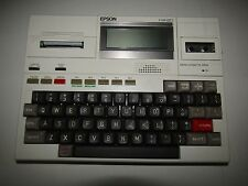EPSON HX-20 Vintage Portable Computer - Mostly tested and working