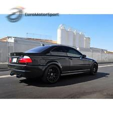 * Painted For BMW E46 Trunk lip spoiler Sedan Coupe M3 Jet Black #668