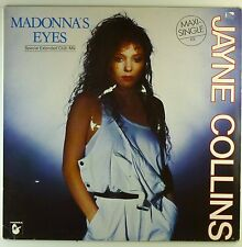 "12"" Maxi - Jayne Collins - Madonna's Eyes - A4167 - washed & cleaned"