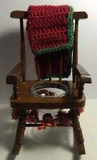 """Decorative Rocking Chair. Size 5"""" X 8.5"""" Inches."""