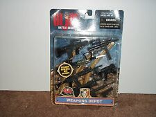 1998 HASBRO GI JOE BATTLE GEAR WEAPONS DEPOT