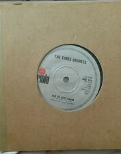 "The Three Degrees - Woman In Love/out of love (7"", Single)"