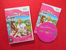 Mi Animal Centro ~ Nintendo Wii ~ Completa ~ 3 + braingame Pal VGC!!
