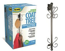 Over door Coat Hanger Tree Wall Mount Storage Hat Organizer Space Saver Closet