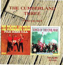 John Stewart with The Cumberland Three 2-CD Set-Folk Scene USA-Civil War Songs