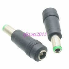 2pcs Adapter Connector DC Power 6.3x3.0mm male to 5.5x2.1mm female for laptop