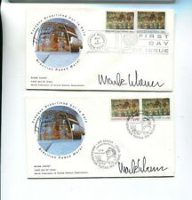 NEW YORK 1974 SCOTT 247 248 MARK WIENER AUTOGRAPH FDC UNITED NATIONS LOT 2