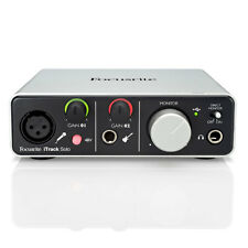 Focusrite iTrack Solo Lightning - Audio Interface for AppleiPad or Computer USB