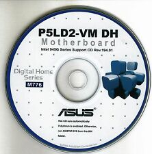 ASUS P5LD2-VM DH Motherboard Drivers Installation Disk M776