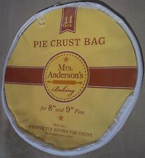 "HIC Mrs. Anderson's 11"" inch pie crust maker Bag"