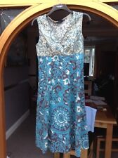 ladies summer dress from debenham size 10(generous size 10)
