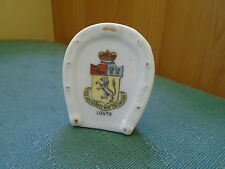 LOUTH LINCOLN CREST - LUCKY HORSESHOE - CRESTED CHINA
