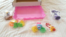 Deluxe Cake and Cookie Sand Molds Kit 37 pc with Play Tray Clay Arts PlayDoh