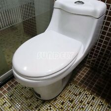 New white Toilet Seat Soft Close | Heavy Duty | Top Fixing Hinge | Hotel Quality