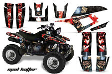 Yamaha Warrior350 AMR Racing Graphic Kit Wrap Quad Decals ATV All Years MDHTTER
