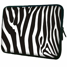 "Zebra Neoprene Case Bag pouch For Kindle fire 7"" (Not Hd)"
