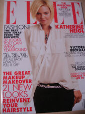 january 2012 ELLE Katherine Heigl cover Makeover issue Victoria Beckham #1 cover