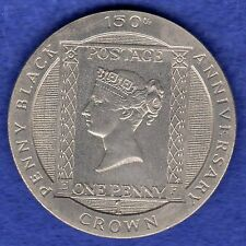 Isle OF MAN, 1990 PENNY BLACK CROWN (rif. T0426)