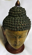 Statue Home Décor Lord Buddha Brass Metal Golden Sculpture Indian Art