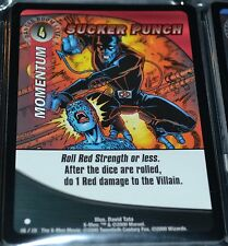 Sucker Punch # 116/131 X-Men Trading Playing Cards Games TCG Commons Xmen MINT