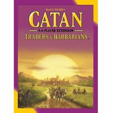Catan Traders & Barbarians 5-6 Player Extension 2015 Refresh Brand New