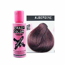 Crazy Color by Renbow Semi Permanent Hair Dye Cream in No.50 Aubergine 100ml
