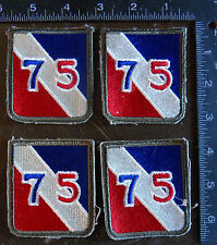 AMERICAN US ARMY MILITARY PATCHES WWII LOT OF 4-LOT-AM-99