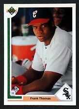 Frank Thomas 1991 Upper Deck Rookie Baseball Card White Sox A's Hall of Fame