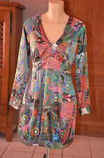 DESIGUAL -Très jolie robe multicolore - Taille 36 - EXCELLENT ÉTAT