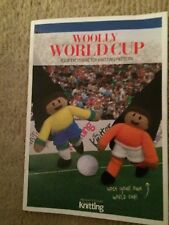 WOOLLY WORLD CUP TOY KNITTING PATTERN