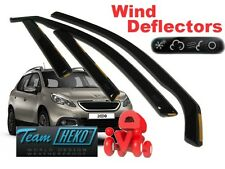 Peugeot 2008 2013R-  estate 5 Doors Wind Deflector 4 pcs. HEKO (26152)