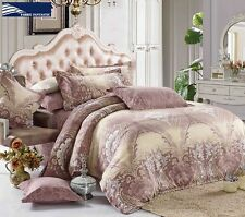 M210 Reversible King Size Bed Duvet/Doona/Quilt Cover Set New