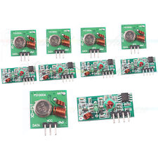 5pcs 433Mhz RF transmitter and receiver kit for Arduino project Wireless   WOR